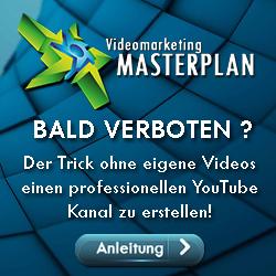 Videomarketing = YouTube Marketing