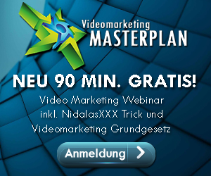 Videomarketing Masterplan Webinar