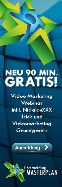 Videomarketing Masterplan Webinar